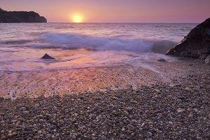 Zen sunset.