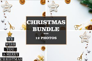 Christmas bundle with 12 photos