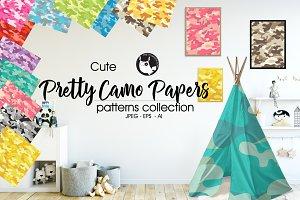 PRETTY CAMO Pattern collection