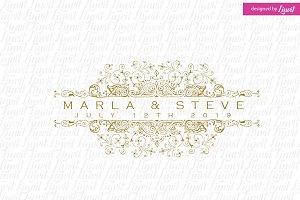 Vintage Wedding Logo
