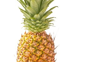 Pineapple solated on white