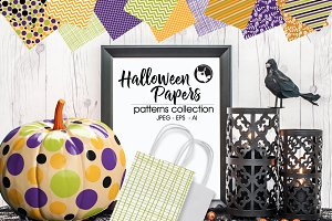 HALLOWEEN-Pattern collection