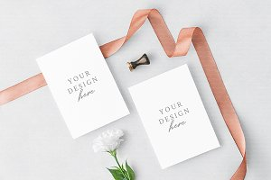 Greeting Cards Mock Up