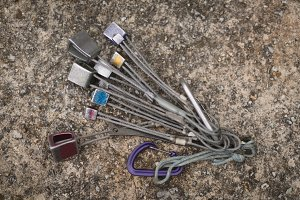 Set of hiking tool