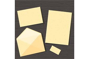 paper template set
