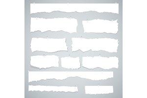 scrap of white paper
