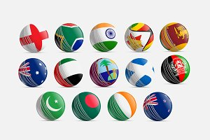 Flags in Cricket Ball