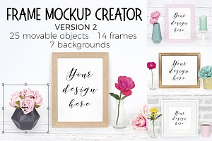 Frame Mockup Creator - Version 2