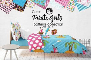 PIRATE GIRLS Pattern collection