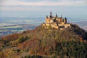 Romantic Castle Hohenzollern