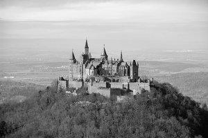 Vintage Castle Hohenzollern