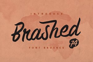 Brashed Typeface
