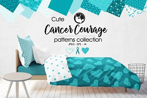 CANCER COURAGE Pattern collection
