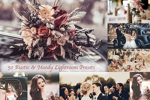 50 Rustic Moody Lightroom preset