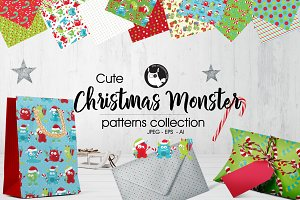 CHRISTMAS MONSTER Pattern collection