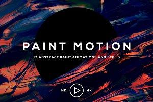 Paint Motion: 21 Paint Animations
