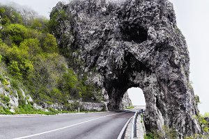 Tunnel in Montenegro