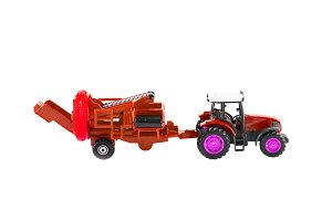 Color Toy tractor