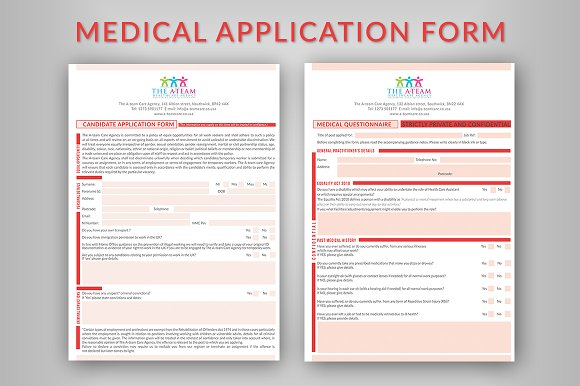 Medical Application Form ~ Stationery Templates ~ Creative Market on medical questionnaire, medical charts, medical documents, medical schedule, medical records, medical insurance, medical files, medical checklist, medical treatment, medical information, medical documentation, medical paperwork, medical signs, medical privacy policy, medical history, medical reports, medical logo, medical papers, medical backgrounds, medical flyers,