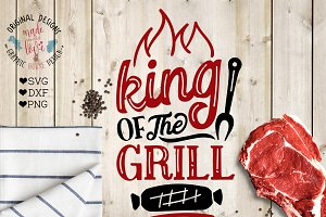 King of the Grill Cutting File