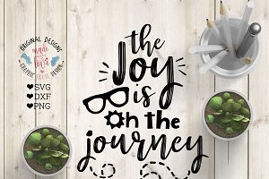 The joy is on the Journey Cut File