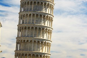 Tower of Pisa, Italy (Vertical)