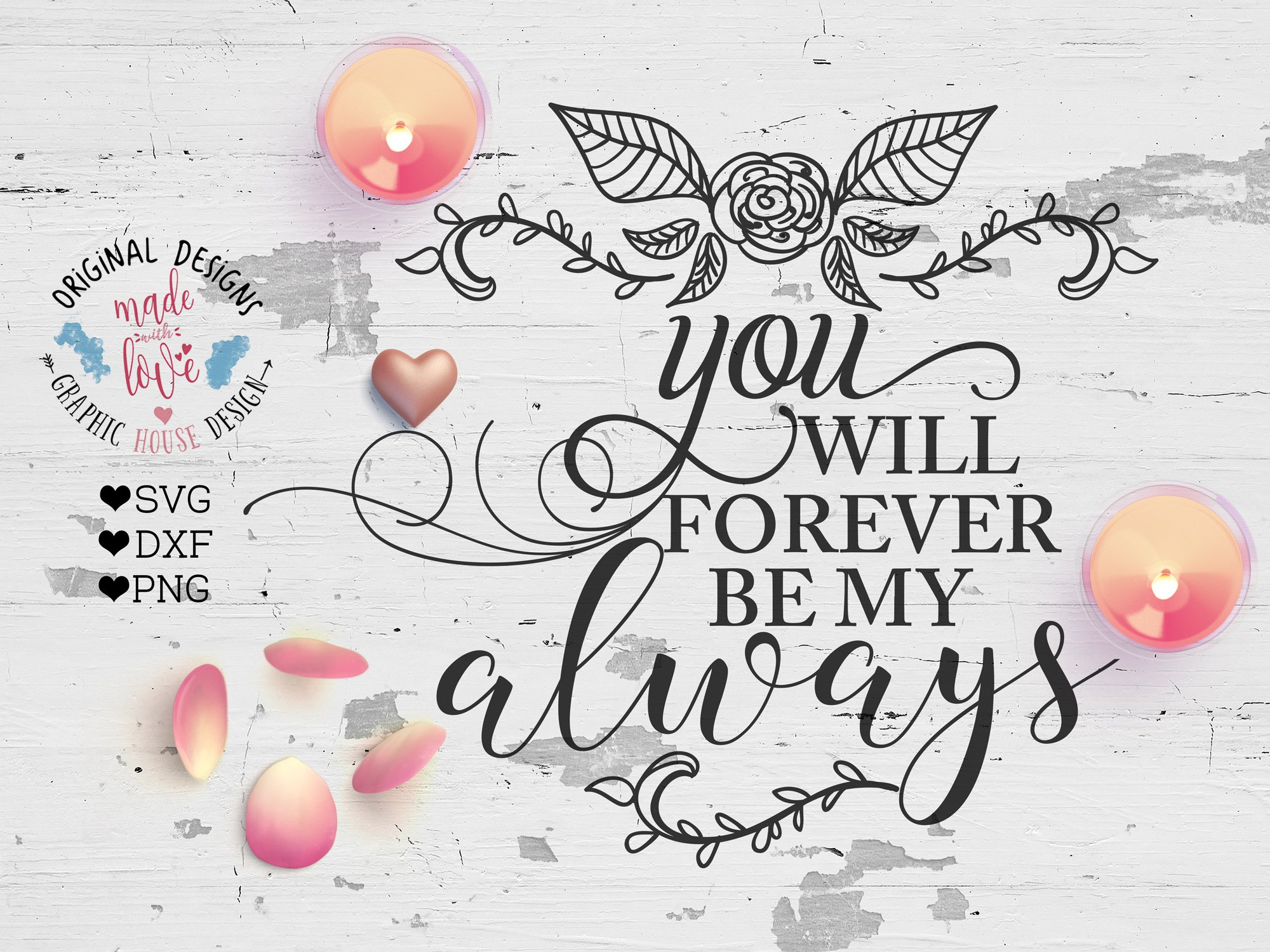 Download You Will Forever Be My Always Svg File Image