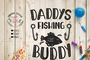 Daddy's Fishing Buddy Cutting File