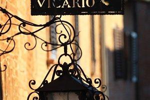 Street Lantern, Italy (Vertical)