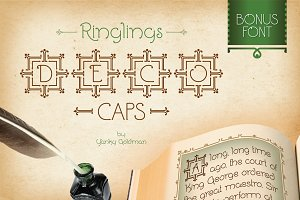 Ringlings Deco Caps