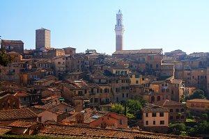 Siena, Italy, Lanscape