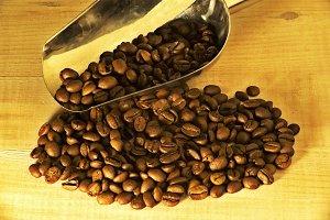 coffee beans  grains