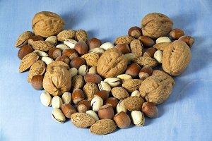 nuts ,  health concept