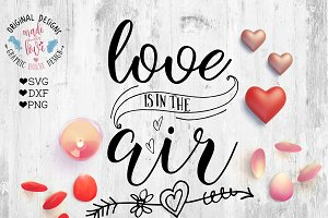 Love is in the Air Cutting File