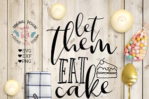 Let them eat cake cutting file