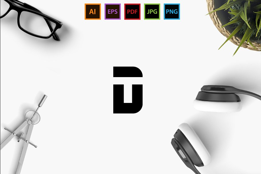 DT/TD  in Logo Templates - product preview 8