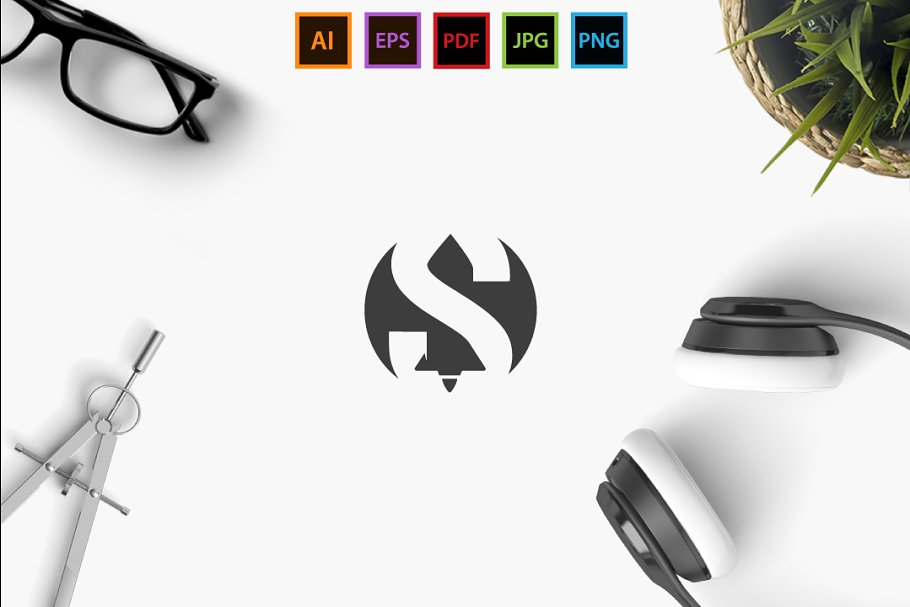 Batman S  in Logo Templates - product preview 8