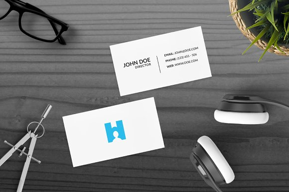 H Human in Logo Templates - product preview 1