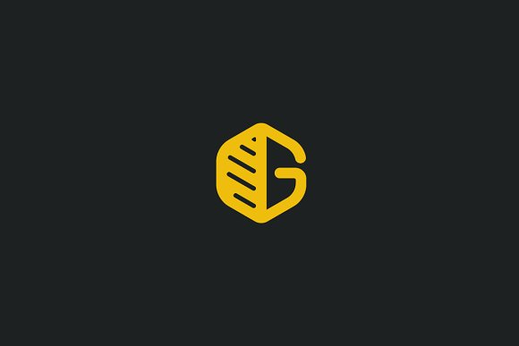 Organic G in Logo Templates - product preview 2