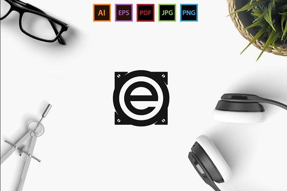 Audio E  in Logo Templates