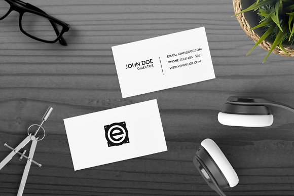 Audio E  in Logo Templates - product preview 1