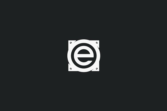Audio E  in Logo Templates - product preview 2