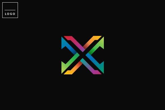 Letter X Logo in Logo Templates