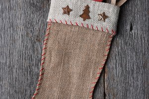 Old Fashioned Christmas Stocking