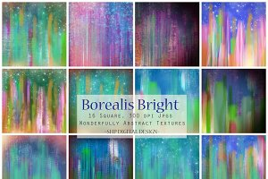 Abstract Sky Art Textures:  Borealis
