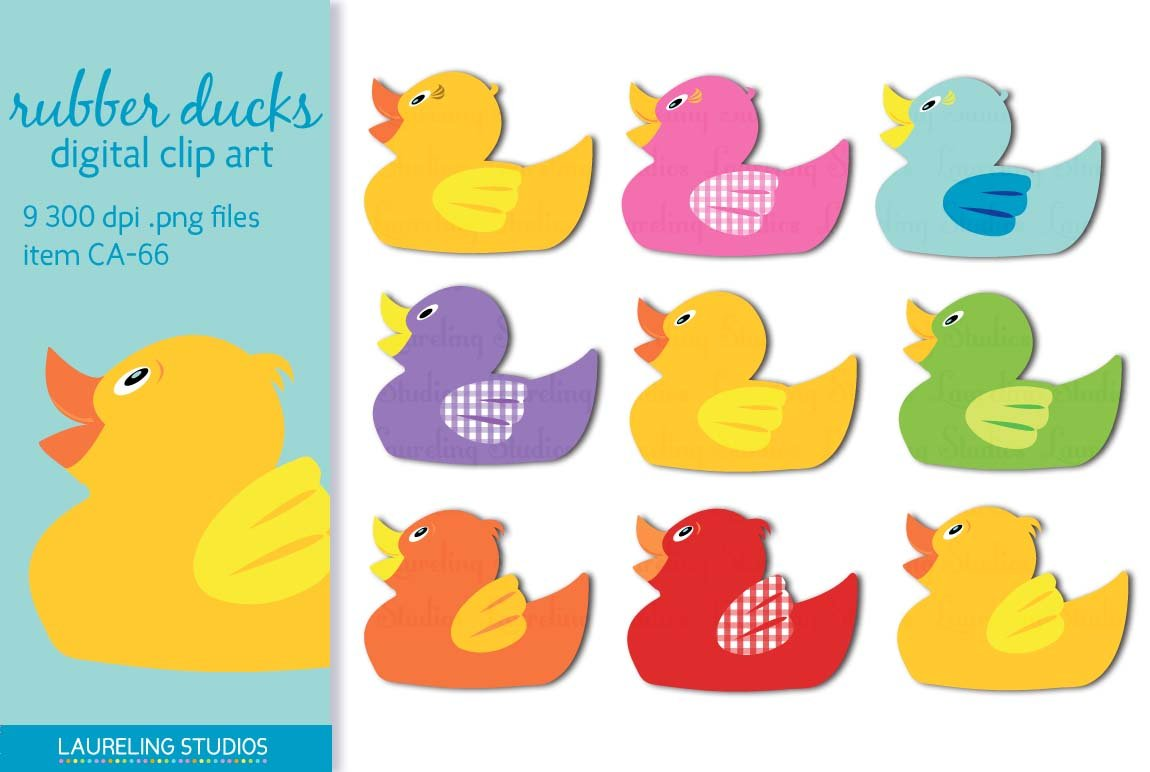 Rubber duck clipart Photos, Graphics, Fonts, Themes, Templates ...