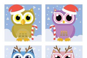 Nice Owl Vector