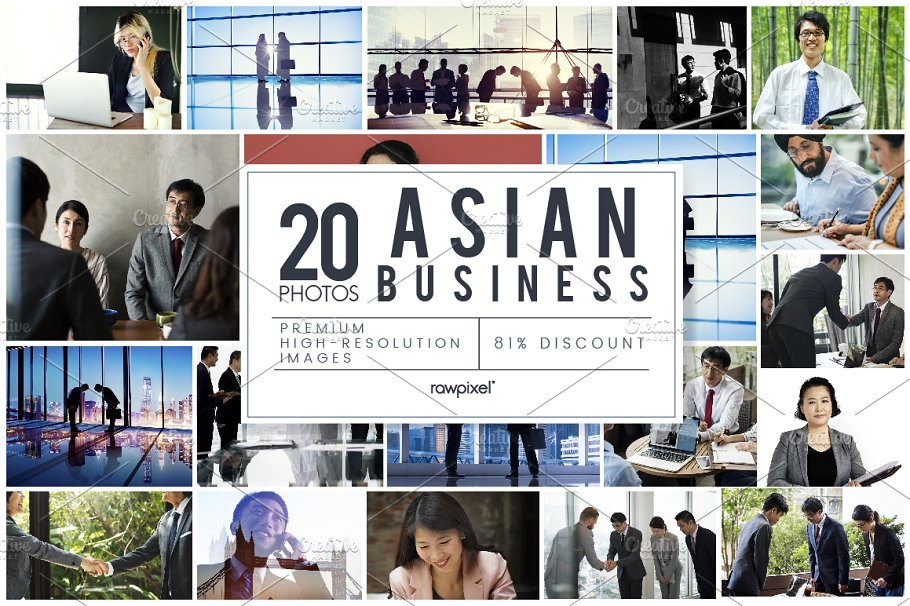 The Best Asian Business Bun-Graphicriver中文最全的素材分享平台