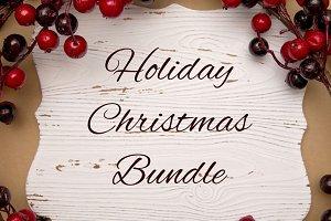 Holiday Christmas Bundle