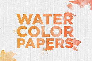 20 Watercolor Papers